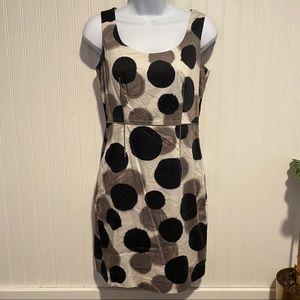 Ann Taylor women's petite polka dot dress